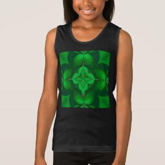 Girls Irish Clover Cactus Top