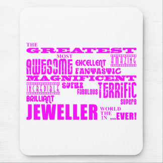 Girls Jewellers : Pink Greatest Jeweller Mouse Pad