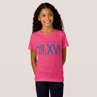 Girl's John 3:16 T-Shirt