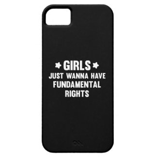 Girls Just Wanna Have Fun Barely There iPhone 5 Case