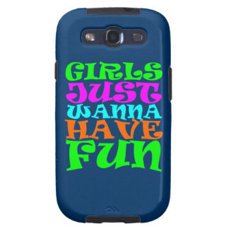 Girls Just Wanna Have Fun Samsung Galaxy S3 Covers