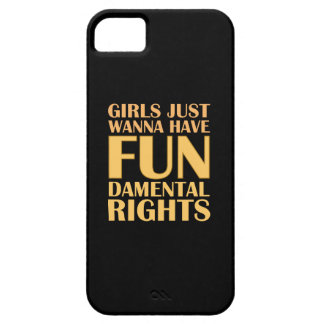 Girls Just Wanna Have Fun iPhone 5 Cases