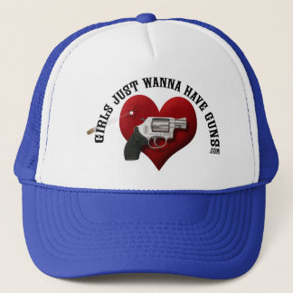 Girls Just Wanna Have Guns Hat