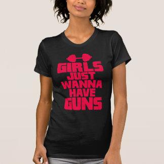 Girls Just Wanna Have Guns T-shirts