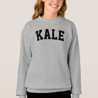 Girls' Kale Sweatshirt