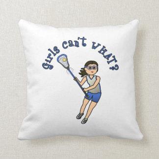 Girls Lacrosse Blue Cushion