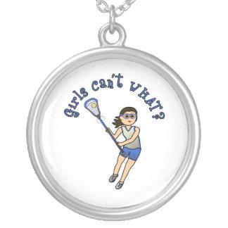 Girls Lacrosse Blue Jewelry