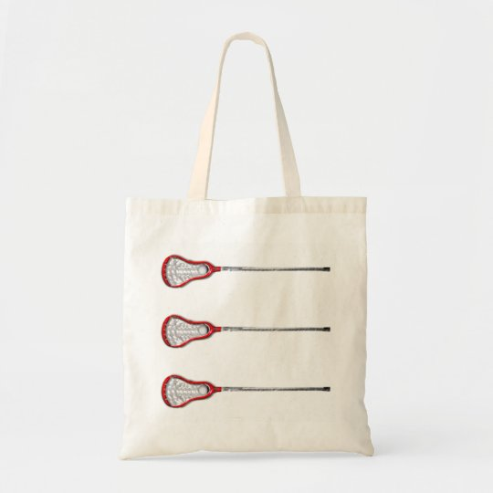 Girls Lacrosse Tote Bag