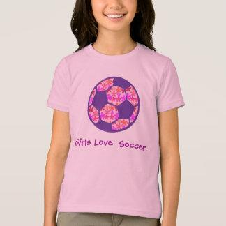 Girls Love Soccer T-Shirt