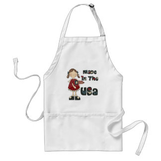 Girls Made In The USA Apron