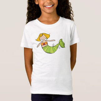 girls mermaid tee