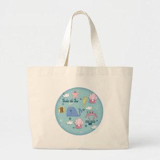 Girls Mermaid Tote Bag