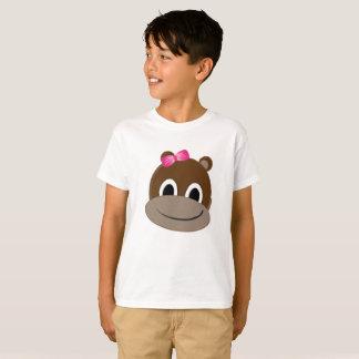 Girls Monkey T-shirt