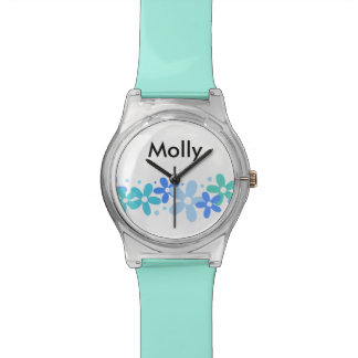Girls Monogram Fashion Watch