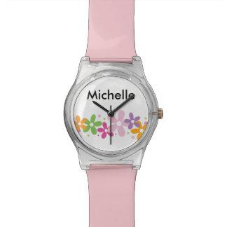 Girls Monogram Fashion Wristwatch