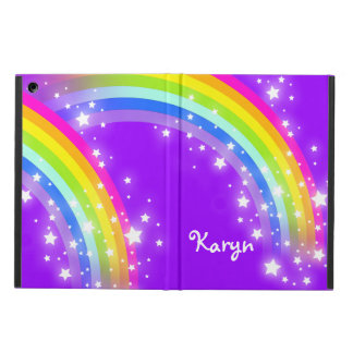 Girls name rainbow purple ipad air powis case iPad air case