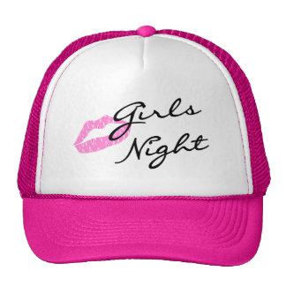 Girls Night Hats