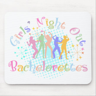 Girl's Night Out Bachelorettes Mouse Pad