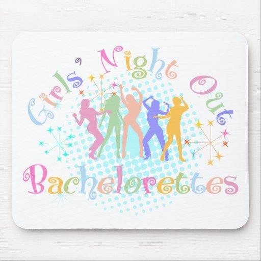 Girl's Night Out Bachelorettes Mousepad