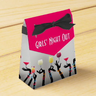 Girls Night Out Cocktail Party Party Favor Box