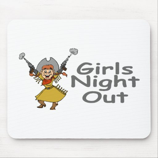 Girls Night Out (Cowgirl) Mouse Pads