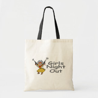 Girls Night Out (Cowgirl) Budget Tote Bag
