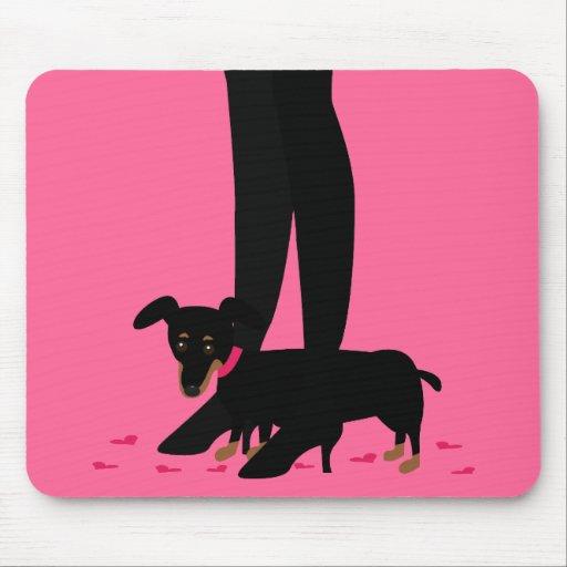 Girls' Night Out - Dachshund Mousepads