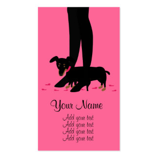 Girls' Night Out - Dachshund Pack Of Standard Business Cards