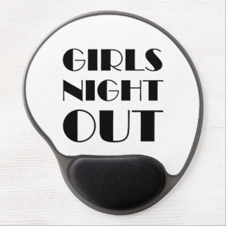 Girls Night Out Gel Mouse Pad