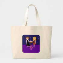 Girls Night Out Large Tote Bag