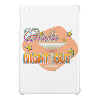 girls night out, last night out bachelorette party iPad mini cases