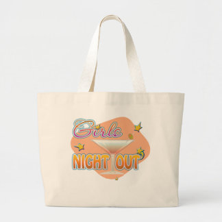 girls night out, last night out bachelorette party jumbo tote bag