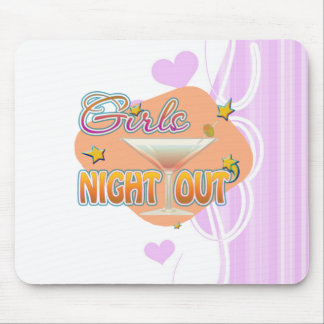 girls night out, last night out bachelorette party mousepads