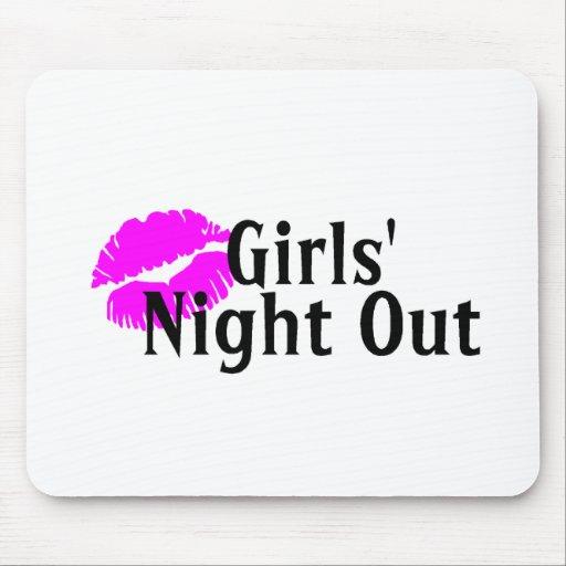 Girls Night Out Lips Mousepad