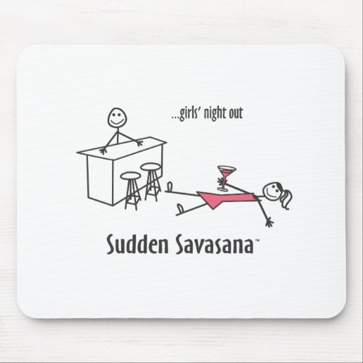 Girls' Night Out Mouse Pad