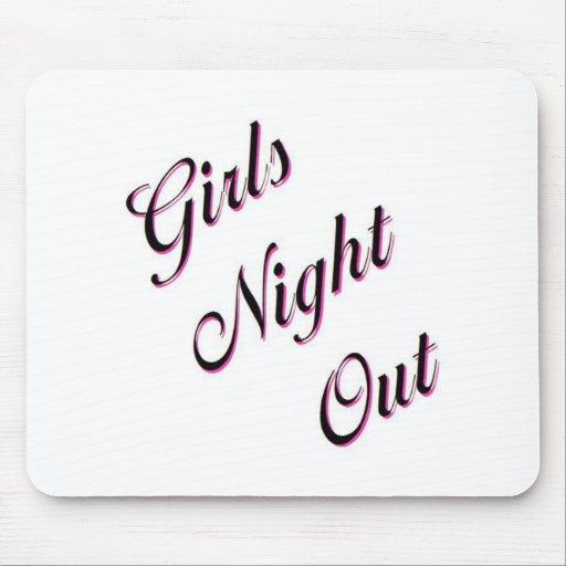 Girls Night Out Mousepads