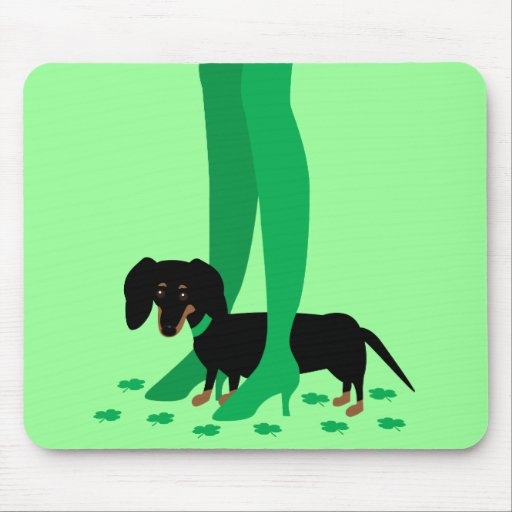 Girls' Night Out St. Patrick's Day Mousepad