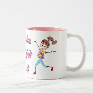 Girls Night Out Two-Tone Coffee Mug