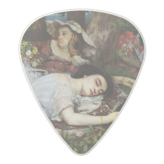Girls on the Banks of the Seine, 1856-57 Acetal Guitar Pick