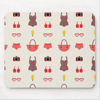 Girls on vacation mousepad