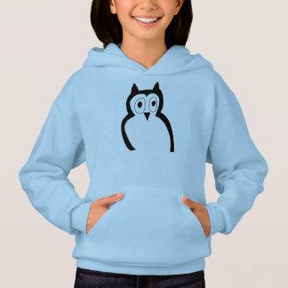 girls owl hoody