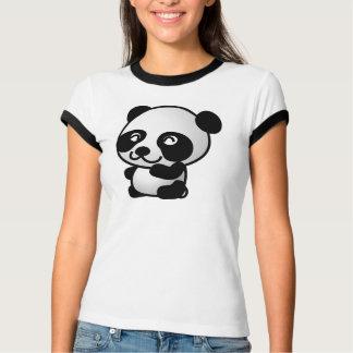 Girls Panda Shirt