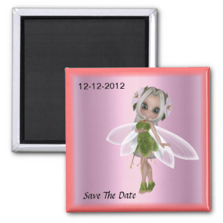 Girls Party Save the Date Magnet