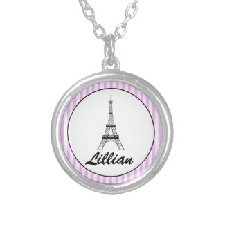 Personalised Eiffel Tower Necklace