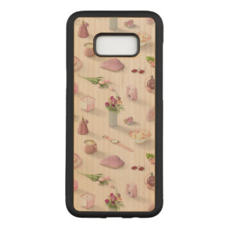 Girl's Pink Dream Carved Samsung Galaxy S8+ Case