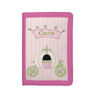 Girl's Pink Princess Wallet
