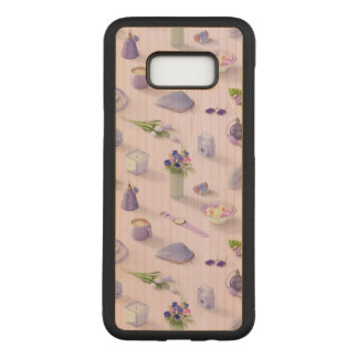 Girl's Purple Dream Carved Samsung Galaxy S8+ Case