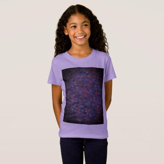 Girls purple t-shirt  / sweet Lavender