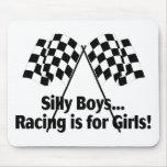 Girls Racing Mousemat