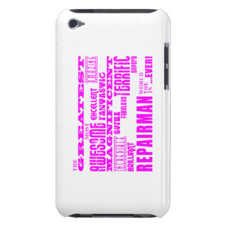 Girls Repairmen : Pink Greatest Repairman Case-Mate iPod Touch Case